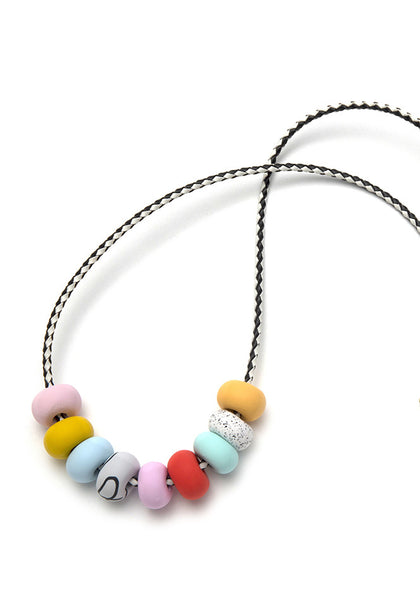 Tessie 9 Bead Necklace