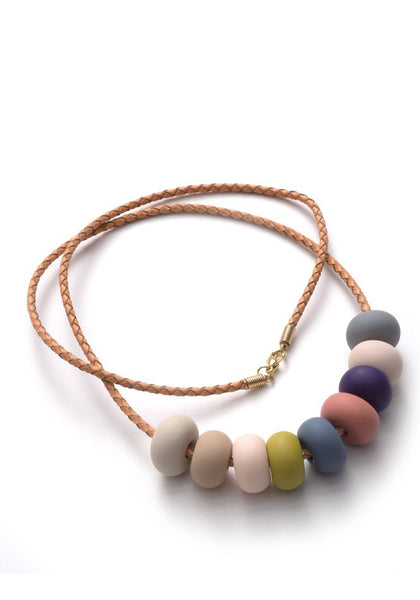 Camille 9 Bead Necklace