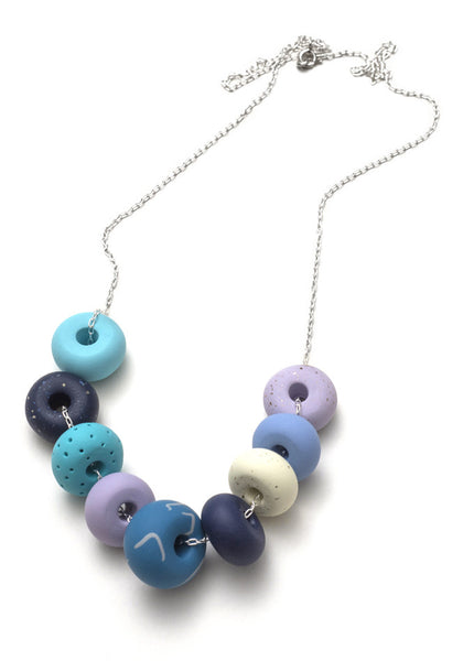 Carrie 9 Bead Necklace