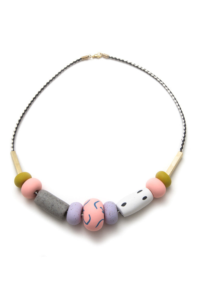 Cynthia Big Bead Necklace