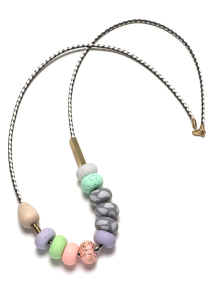 Cindy Small Mixed Bead Necklace