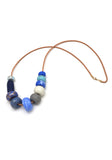 Gossling Harvest of Gold Cornflower Big Bead Necklace