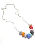 Gemma 9 Bead Necklace