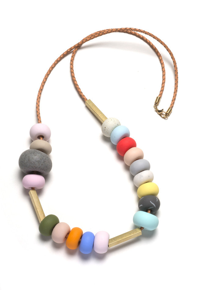 Ines Mixed Bead Necklace