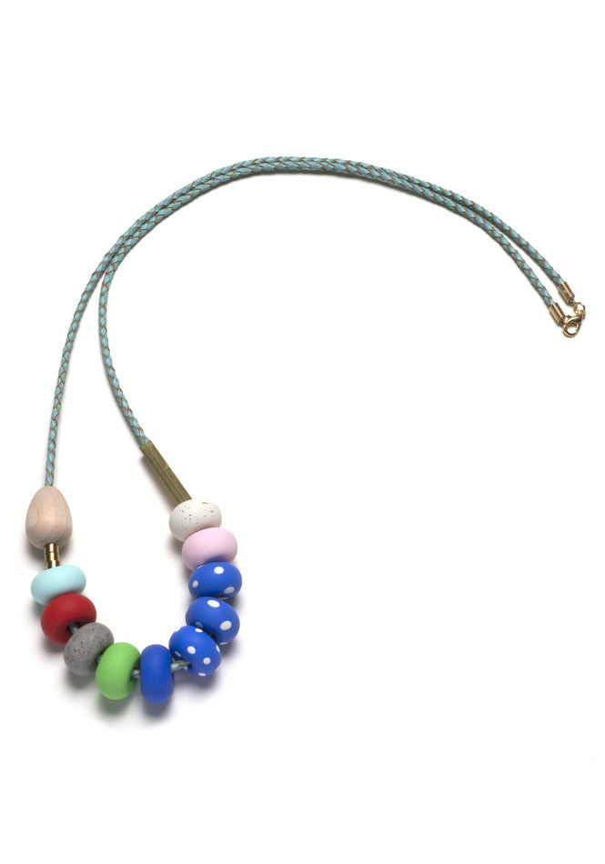 Isla Small Mixed Bead Necklace