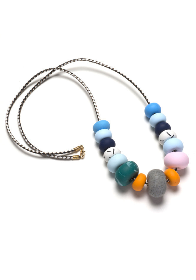 Lena Big Bead Necklace