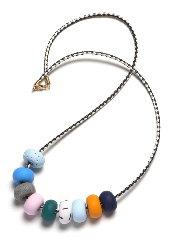 Pia 9 Bead Necklace