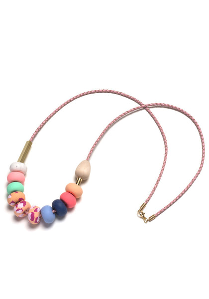 Stella Small Mixed Bead Necklace