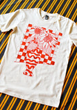 Sunflower Still Life Tee in Red