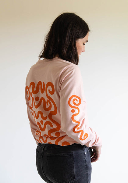 Swirl Long Sleeved Tee