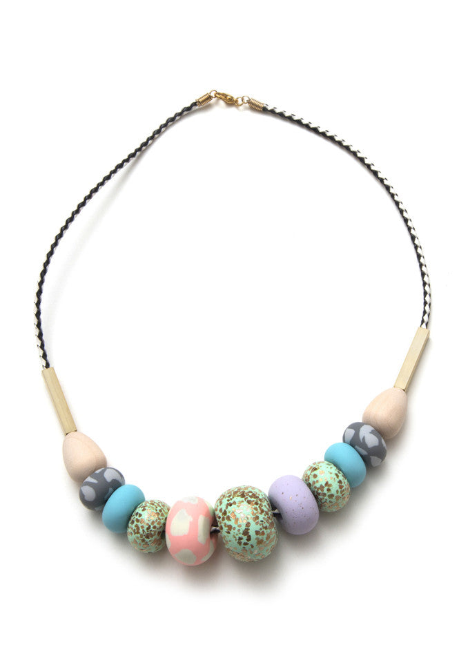 Whitney Big Bead Necklace