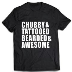 Chubby& Tattooed Bearded and awesome