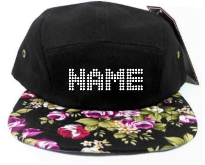 Floral snapback (camping style)