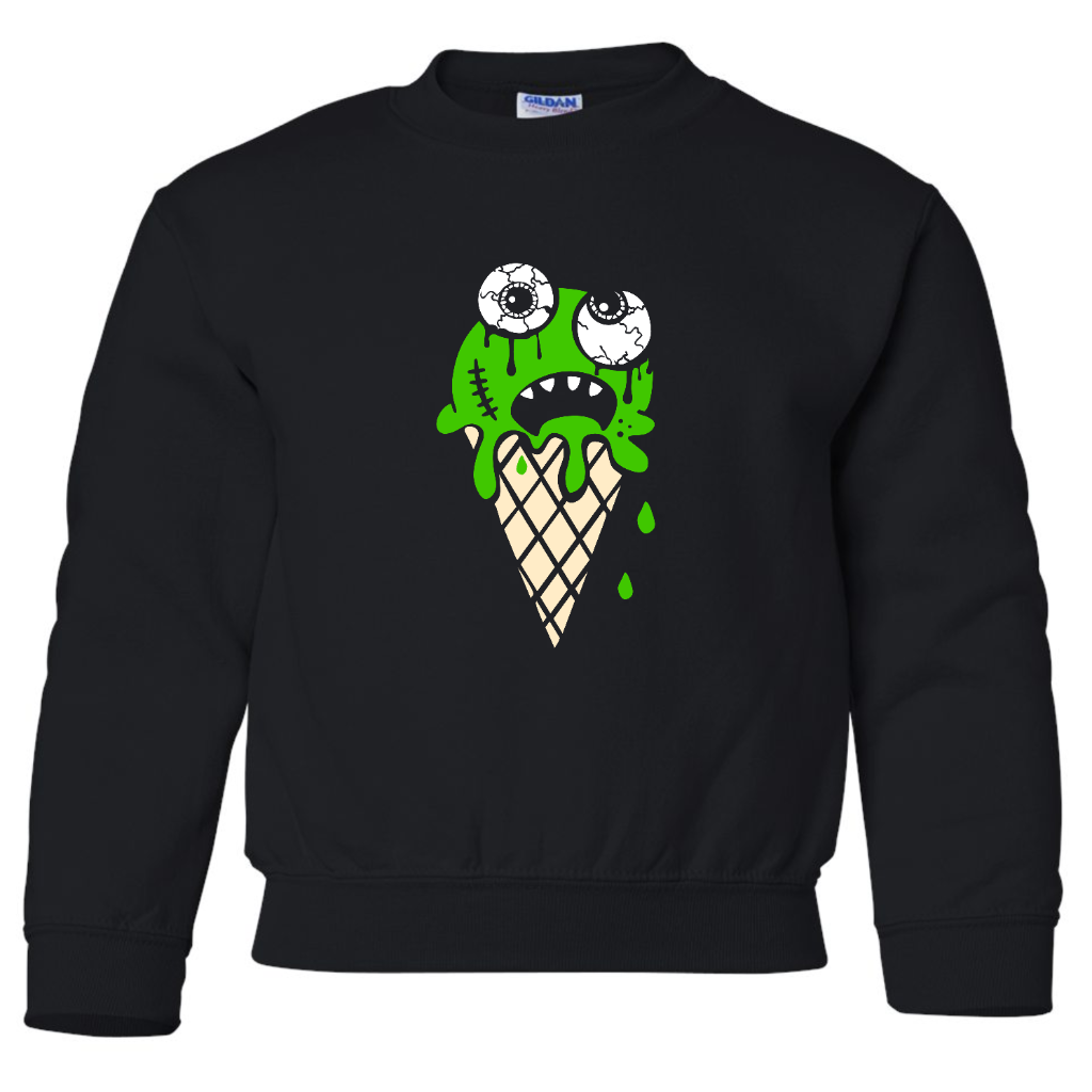 Eye scream toddler crew neck