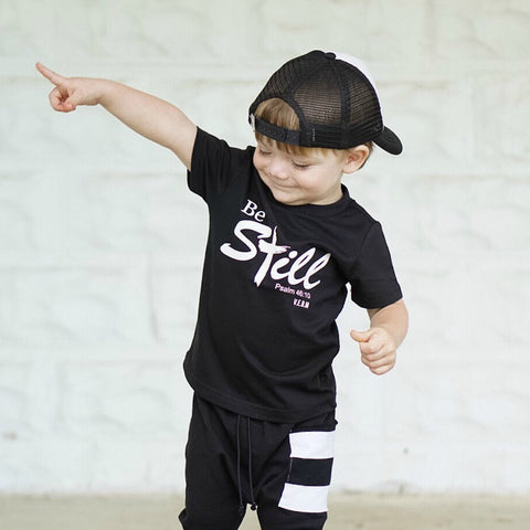 Be Still toddler tee