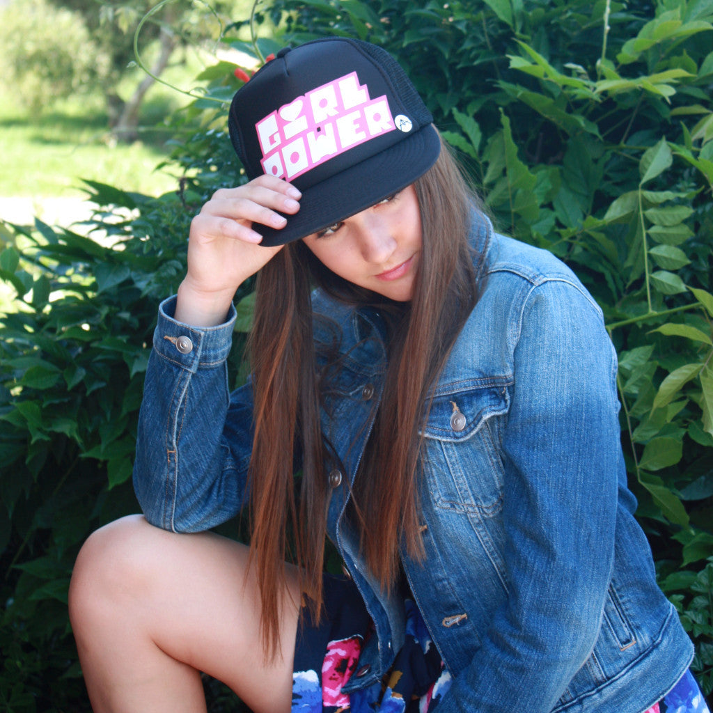 GIRL POWER trucker hat
