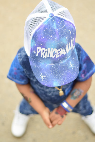"Galaxy ""name"" trucker hat"