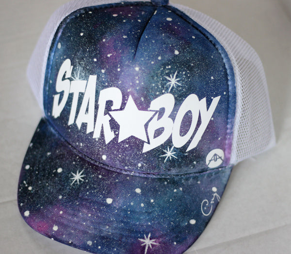 Galaxy Star boy trucker hat