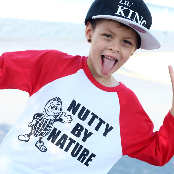 NUTTY BY NATURE RAGLAN