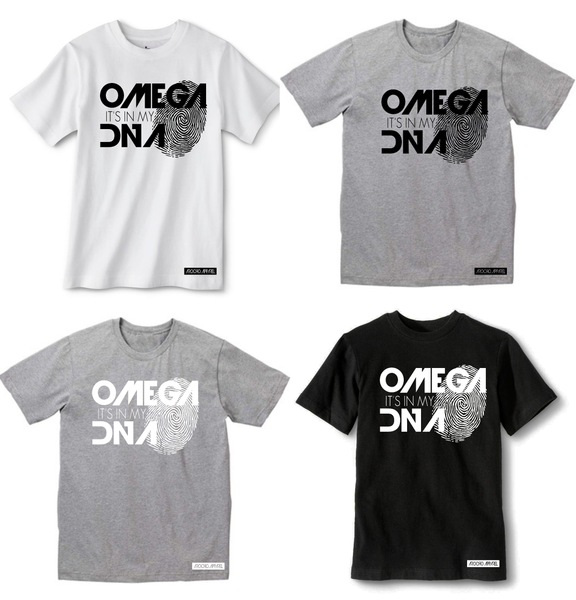 OMEGA IT'S IN MY DNA T-SHIRT