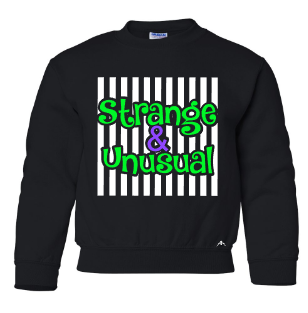 STRANGE AND UNUSUAL  toddler crew neck