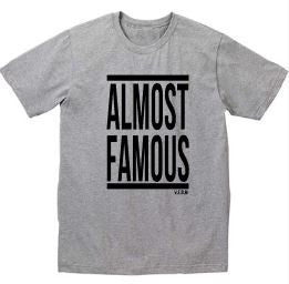 Almost famous grey tee