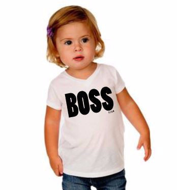 Boss Infant +Toddler t-shirt