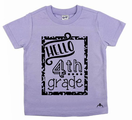 Hello, Back to school tees