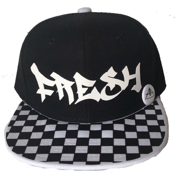 Checker Custom rim hats with name