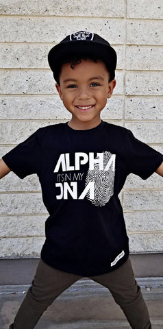 ALPHA IT'S IN MY DNA T-SHIRT