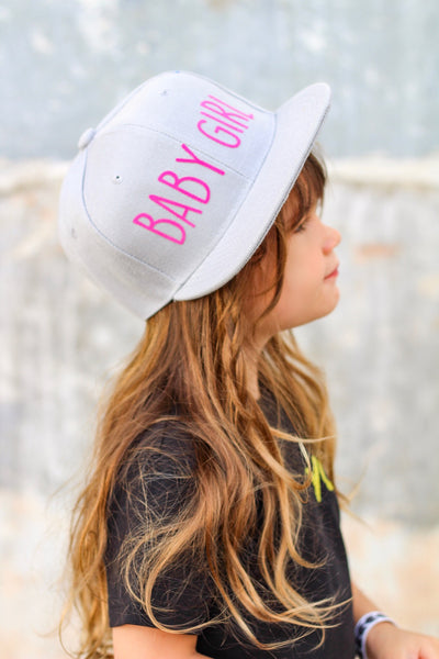Baby girl youth snapback