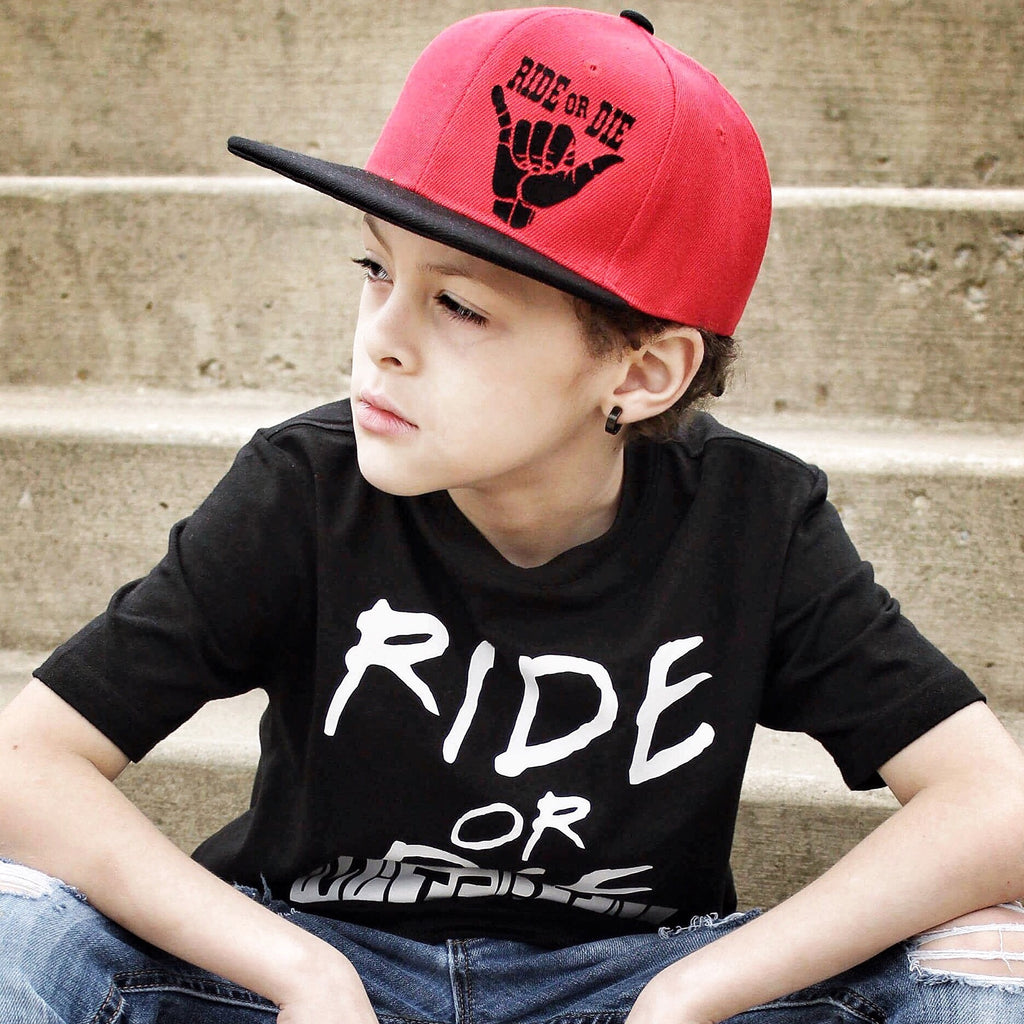 Ride or die snapback