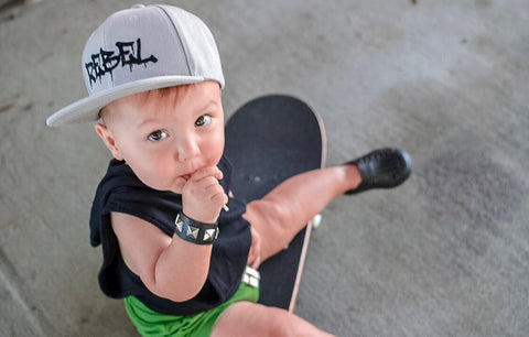Infant/ toddler snapbacks