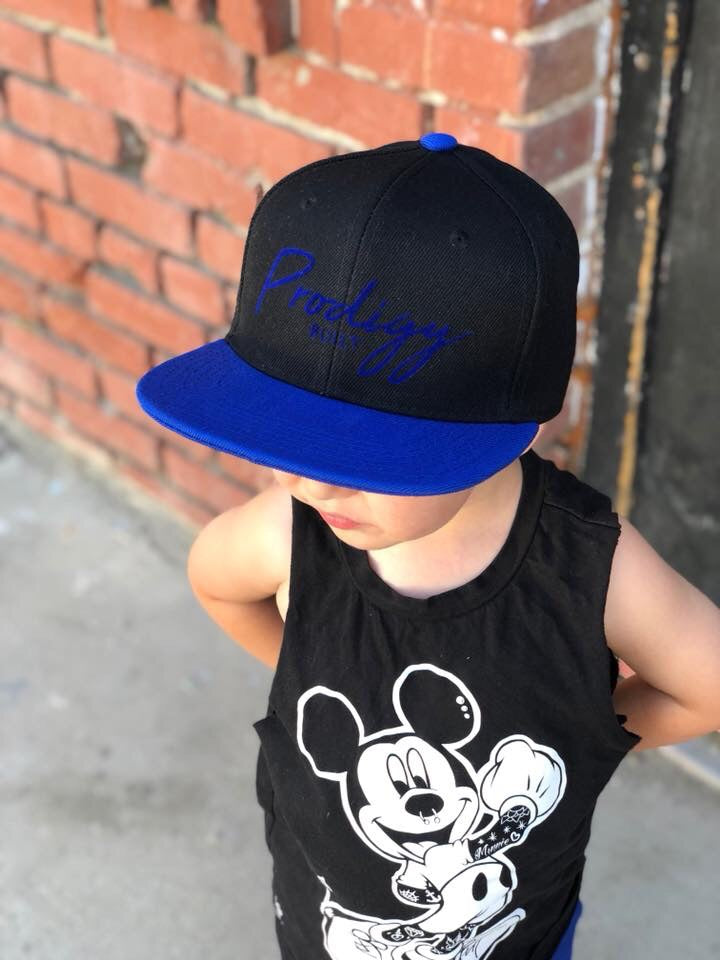 Prodigy built youth snapback