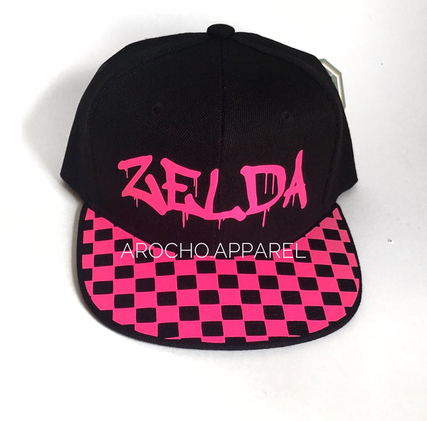 Custom rim hats with name