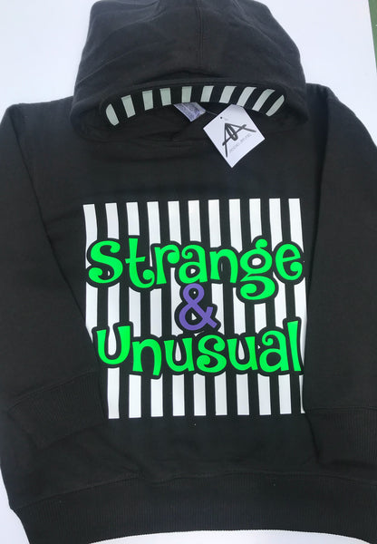 STRANGE AND UNUSUAL YOUTH HOODIE