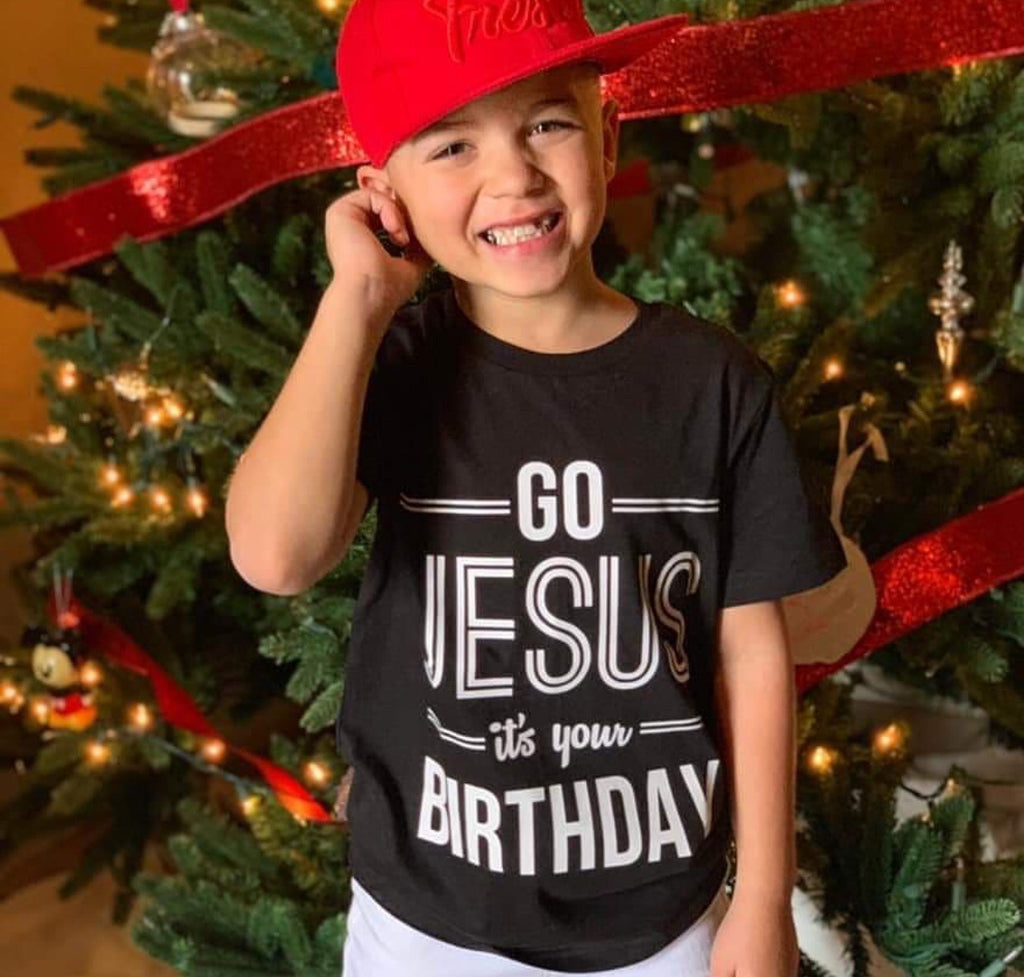 GO JESUS IS YOUR BIRTHDAY