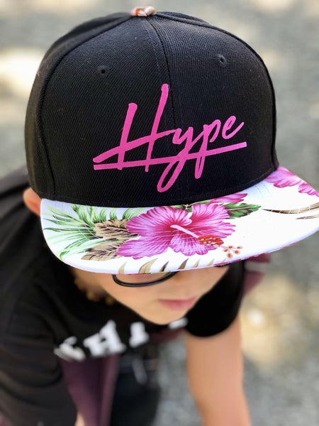 Hype floral snapback
