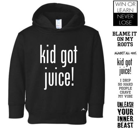 New drop Toddler hoodie