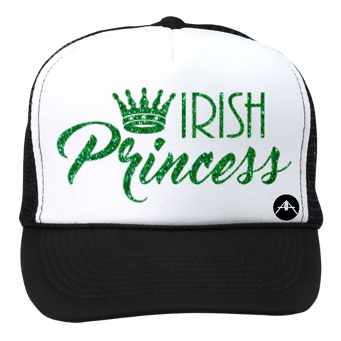 Irish princess in glitter