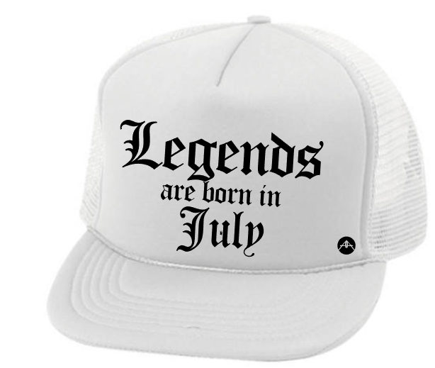Legends are born in (Month)