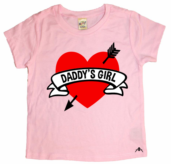 TATTOO HEART DADDY'S GIRL