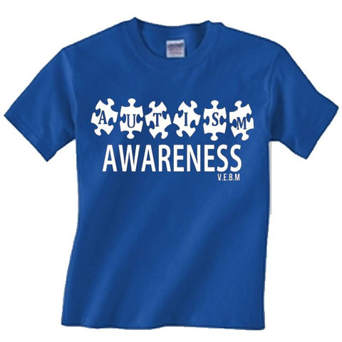 Autism awareness puzzle: (ADULTS)