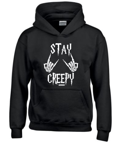 Stay creepy  Youth hoodie