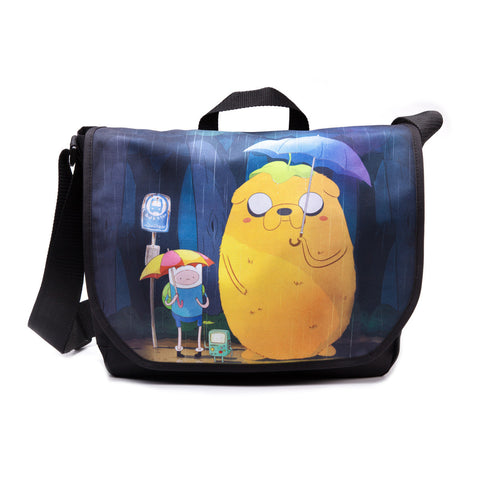Adventure Time Totoro Style Messenger Bag