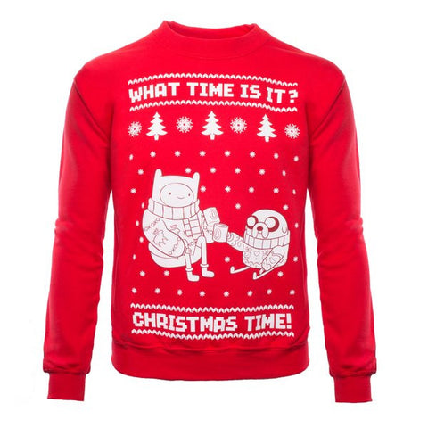 Adventure Time Christmas Jumper