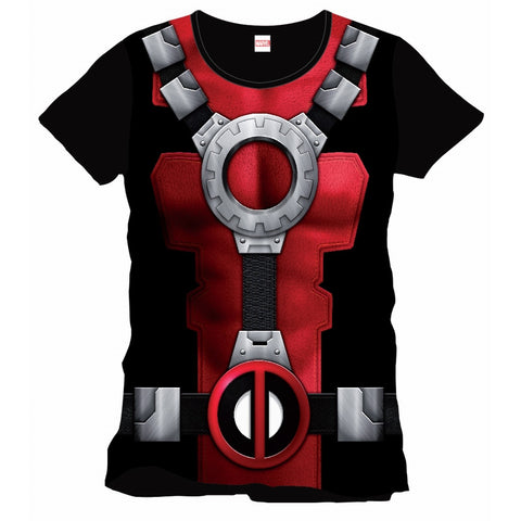Deadpool Cosplay Top