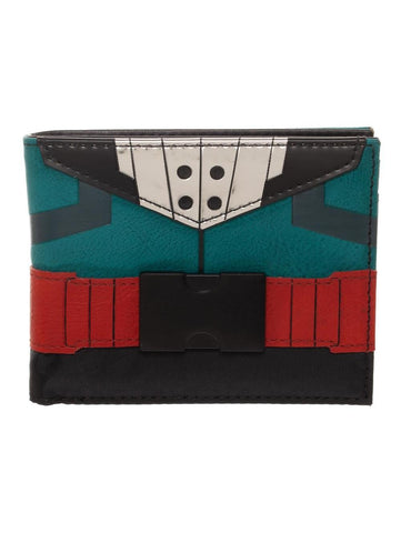 My Hero Academia Izuku Midoriya Suit Up Wallet