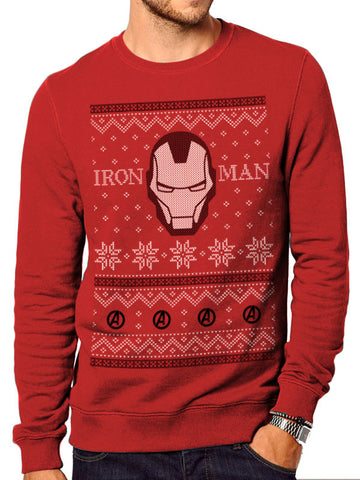 Iron Man Christmas Jumper
