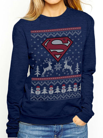 Superman - Man of Steel Christmas Jumper